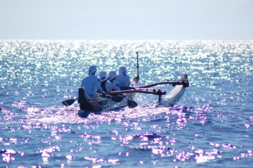 Méditerranée en pirogue